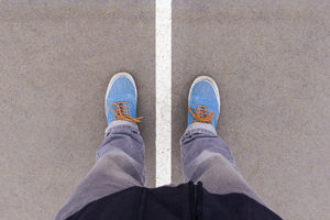 blaue-schuhe